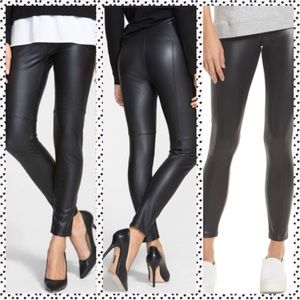 💠NWT M Faux Leather NORDSTROM Black Leggings💠